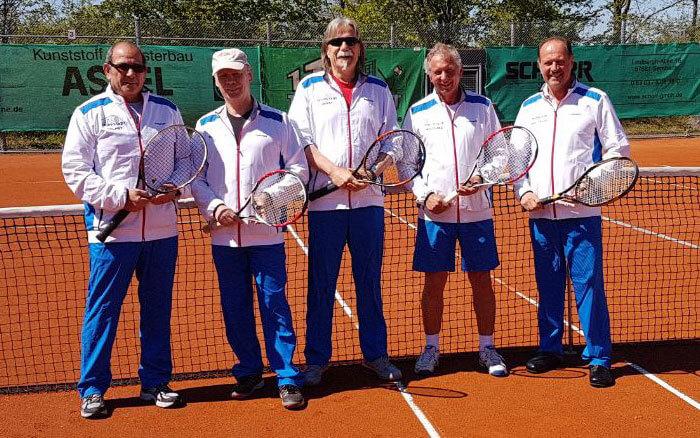 Mannschaft Herren 60 - 2017