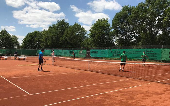 Tennis-Saisoneröffnung 2018