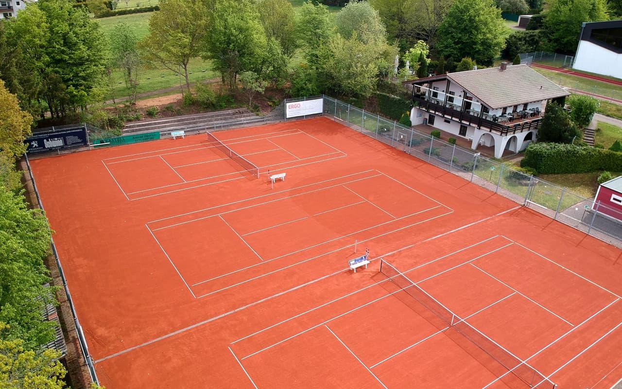 Eröffnung der Tennisplätze